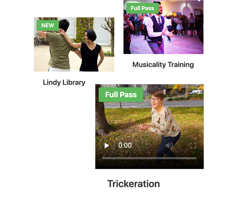 lindy library musicality training trickeration